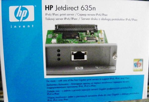 HP Jetdirect 635n IPv6//IPsec Print Server 10//100//1000 J7961G